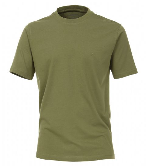 CASAMODA  Olive T Shirt 100% Cotton